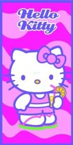 Hello Kitty Badlaken Drink 70 X 140 Cm