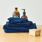 Linen Tales | Gastenhanddoek - Donkerblauw - 45 x 65 cm