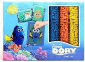 Disney Pixar Finding Dory Pixel Kunst Knutsel Set voor Kinderen Jongens en Meisjes – 24x18x1cm | Knutselset voor Kinderen | Ministeck Hobbypakketten | Pixelen