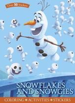 Disney Frozen Snowflakes and Snowgies