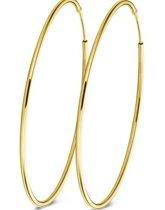 Casa Jewelry Oorringen DMC XXL - Goud Verguld