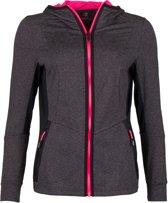 Sjeng Sports Saira  Sportvest - Maat L  - Vrouwen - grijs/zwart/roze