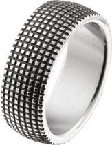 The Jewelry Collection Ring Oxi - Staal
