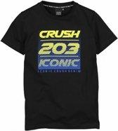 Crush Jongens t-shirts & polos Crush T-shirt km zwart 140