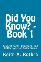 Did You Know? - Book 1