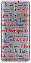 Nokia 8 Hoesje I Love you