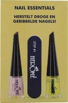 Herome Nail Essentials (Geel) – Droge en geribbelde nagels; laat doffe en droge nagels weer stralen!