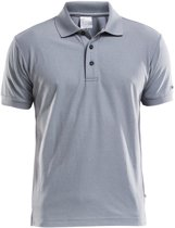 Craft Polo Shirt Pique Classic Heren Grijs maat M