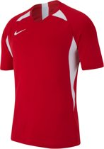 Nike Dry Striker  Sportshirt - Maat L  - Mannen - rood/wit