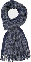 Michaelis heren sjaal - navy blauw - grijs