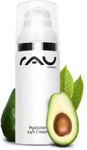 RAU Hyaluron 24h anti-age gezichtscrème - 50 ml -  met anti-age effect - voor droge huid met avocado-olie, sheabutter en hyaluronzuur