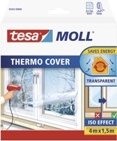 Tesa 05432 - Thermo Cover - isolatiefolie - 1,5mtr x 4mtr - transparant