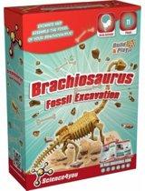 Science 4 You - Brachiosaurus Fossiel Opgraven - Experimenteerset