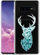 Galaxy S10 Plus Hoesje Art Deco Deer