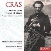 Jean Cras: L'oeuvre pour violon et piano