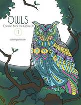 Owls Coloring Book for Grown-Ups 1