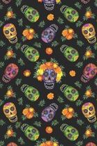 Day Of The Dead Pattern Sugar Skull Santa Muerte 29