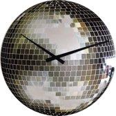 NeXtime Wandklok Disco Glas - ø30 cm