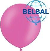 Grote ballon roze B350 90cm 1 stuks