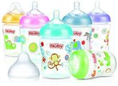 Nuby Fles silicone medium flow
