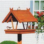 Vogelvoederhuisje - Bruin - 42 cm x 36 cm x 38 cm