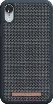 Nordic Elements Sif backcover voor Apple iPhone XR -  Zwart / antraciet textiel