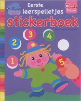 Eerste leerspelletjes stickerboek