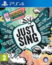 Ubisoft Just Sing, PS4 Basis PlayStation 4 video-game