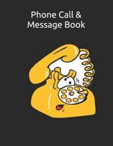 Phone Call & Message Book