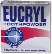2 X Eucryl  orginal poeder original de vervanger voor Smile/Smokers poeder 50 gram