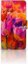 Nokia 8 Boekhoesje Design Tulips