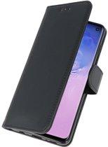Samsung Galaxy S10  Hoesje Book Case Zwart