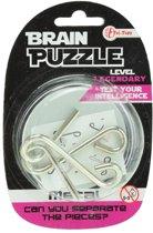 Toi-toys Hersenkraker Brain Puzzle Legendary Zilver