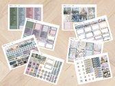 Planner Stickers algemeen KERST 2021 voor Mascha Planner