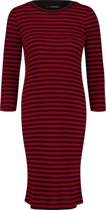 Supermom Jurk Stripe - Tango Red Stripe - Maat XL