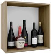 Wijnkast wijnrek Weino I modulair samen te stellen sonoma eiken