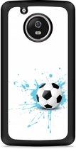 Moto G5 Plus Hardcase Hoesje Soccer Ball