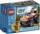 LEGO City Brandweerjeep - 4427