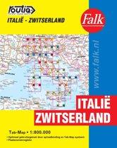 Routiq patent wegenkaarten - Italie - Zwitserland