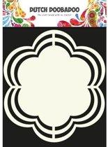 Dutch Doobadoo Dutch Shape Art frames flower 16x16 centimeter