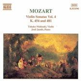 Mozart: Violin Sonatas Vol 4 / Takako Nishizaki, Jeno Jando
