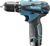 MAKITA Accuboormachine DF330DWE - 10,8 V - 1,3 Ah Li-Ion - Incl. 2 Accu's