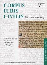 Corpus Iuris Civilis VII; Codex Justinianus 1 - 3 VII Corpus Iuris Civilis