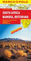 South Africa, Namibia & Botswana Map