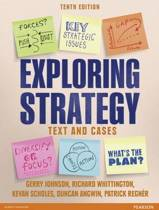Exploring Strategy (Text and Cases), plus MyStrategyLab with Pearson eText