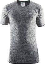 Craft Active Comfort Roundneck Ss Sportshirt Heren - Black