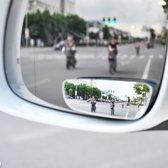 2 Stuks  Handige Extra Autospiegel Voor Dode Hoek - Dodehoekspiegel - Camper - Auto - Parkeren