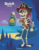 Skelett-Malbuch 1