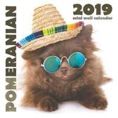 Pomeranian 2019 Mini Wall Calendar