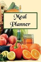 Meal Planner: 52-Week Meal Planner with Weekly Food Shopping List